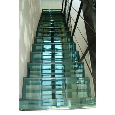 En verre et contre tout r alisations verrerie sol en verre et escalier en verre - Escalier verre et metal ...