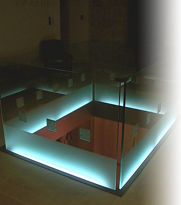 En verre et contre tout atelier verrier artisans for Technique du miroir